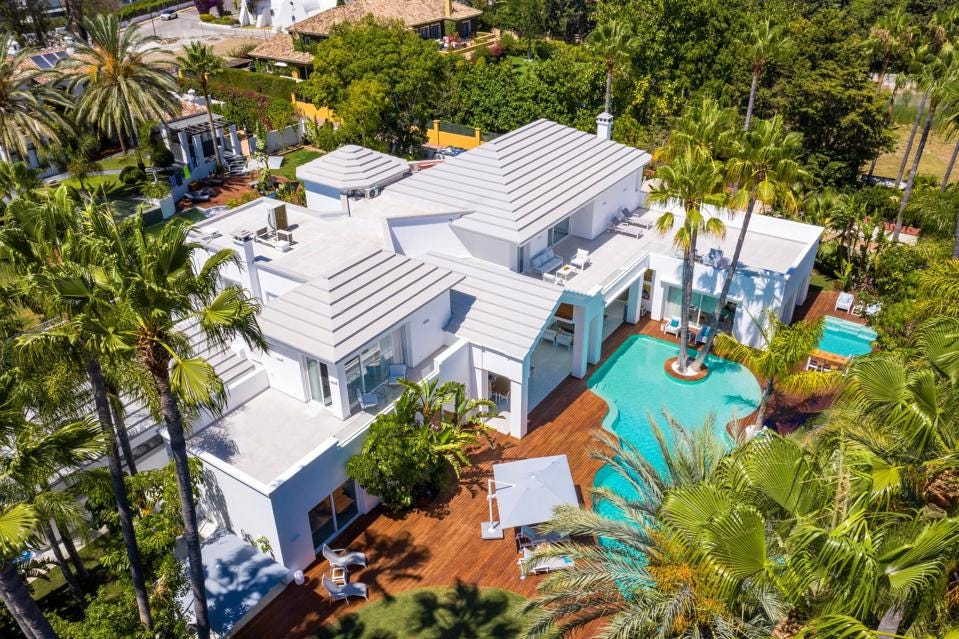 $7.3 Million Modern Luxury Villa Mansion on Spain's Costa Del Sol