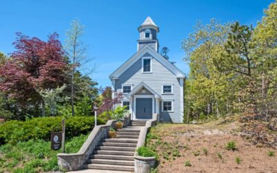 $1.7 Million Renovated Schoolhouse For Sale on Cape Cod